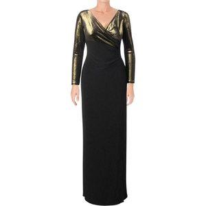 Lauren Ralph Lauren Womens Evening Dress Gown $210